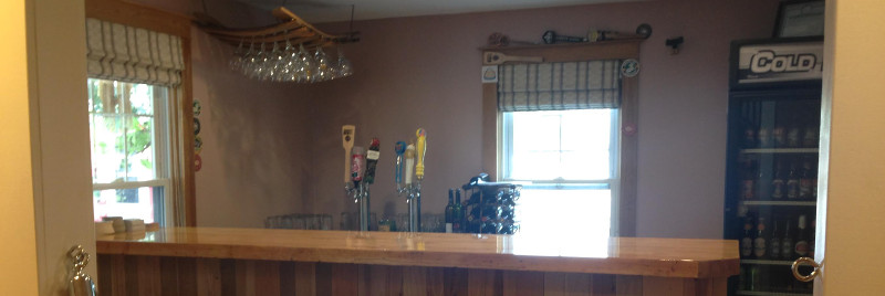 The NEW Bistro Bar at the Colonial Inn & Motel in Watkins Glen NY